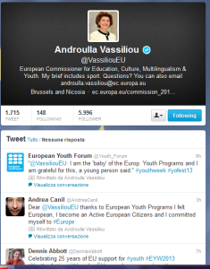 Andrea Canil Europa Europe retwet vassiliou