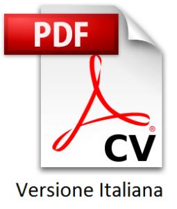 cv italiano